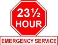 23-1/2 Hour Service