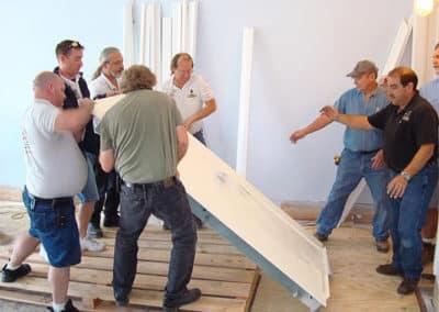 Residential Vault Installation